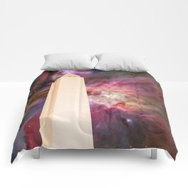 Celestial Washington Monument Comforters