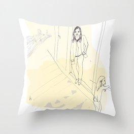 Young Londoner Throw Pillow