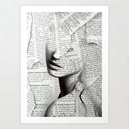 Silence of distance Art Print