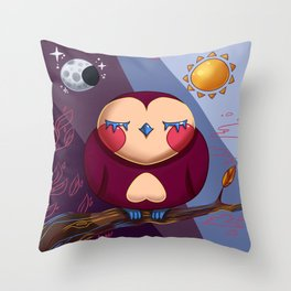 Owl Sweetie Throw Pillow