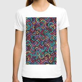 Seamless Colorful Geometric Pattern XXV T-shirt