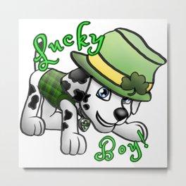 Lucky Boy! Metal Print