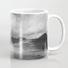 Blea Tarn with Langdale Pikes beyond. Cumbria, UK. Mug