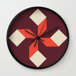 Modern Block #2 Wall Clock