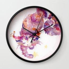 Spiral The Star-Catcher Wall Clock