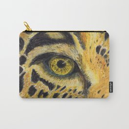 Leopard eye Carry-All Pouch
