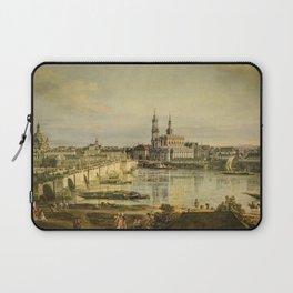 Bernardo Bellotto - Old town of Dresden Laptop Sleeve