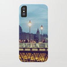 Paris at Night: Pont Neuf iPhone X Slim Case
