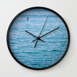 Deep Blue Sea Wall Clock