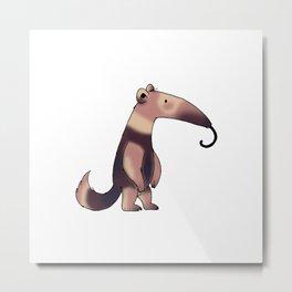 Cute anteater Metal Print