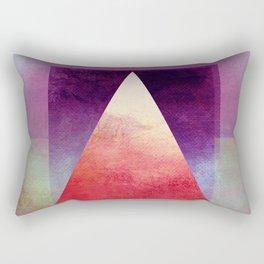 Triangle Composition XI Rectangular Pillow