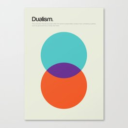 Dualism Canvas Print