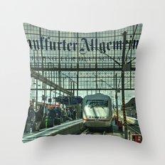 Frankfurt ICE Throw Pillow