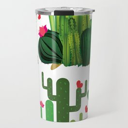 Hedgehog from cactus Travel Mug