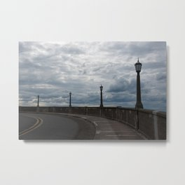 The Vista House Lamps Metal Print