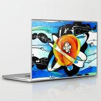 big bang Laptop & iPad Skins featuring Big Bang by Raluca Mitarca