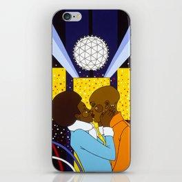 New York Kiss iPhone Skin