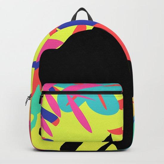 Tropical cat Backpack