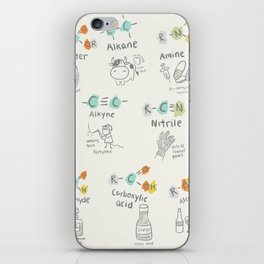 Molecules of Life iPhone Skin