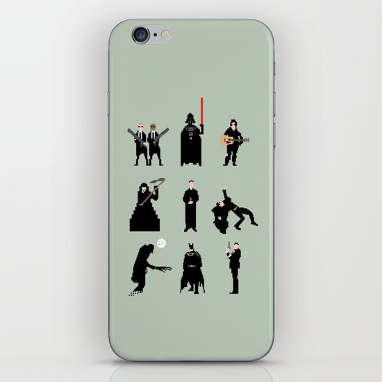 Men in Black iPhone & iPod Skin