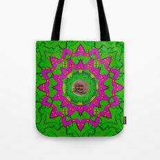 vegetarian greens and fish pop art Tote Bag