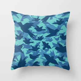 Bird Camouflage 8 Throw Pillow