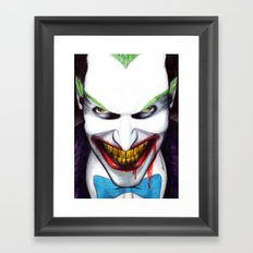That Evil Smile Framed Art Print