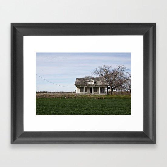Lonestar Road Framed Art Print