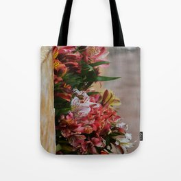 Mexican flowers Tote Bag