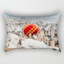 Blown Away   Cappadocia, Turkey Rectangular Pillow