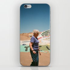 Salvation Lady iPhone & iPod Skin
