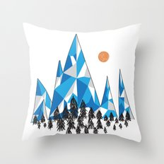 Mountain Kingdom Throw Pillow