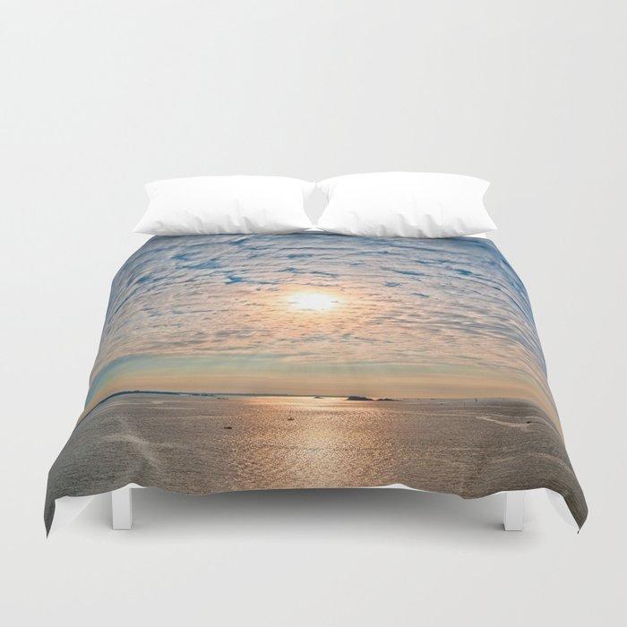 Saint-Malo Sunset Duvet Cover