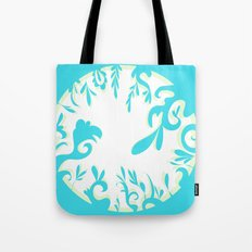 Abstractly Blue  Tote Bag