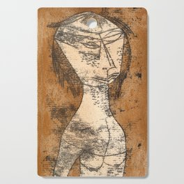 The Saint of the Inner Light by Paul Klee, 1921 Cutting Board