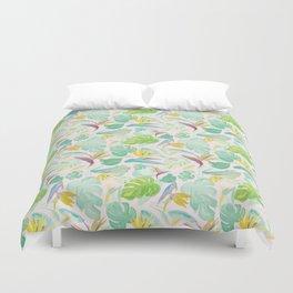 Birds of Paradise Pattern Duvet Cover