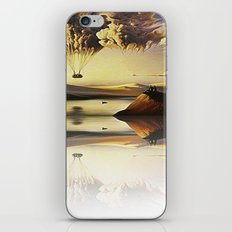 Mountain And Cloud iPhone & iPod Skin