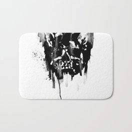 Dog skull Bath Mat