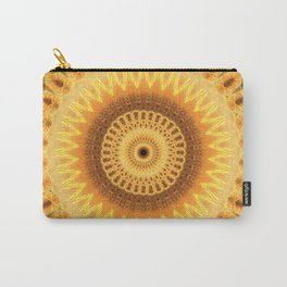 Embers Mandala Carry-All Pouch
