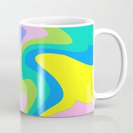 marbling. Coffee Mug
