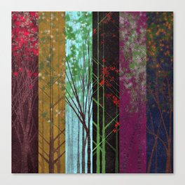 Forest Sampler Canvas Print