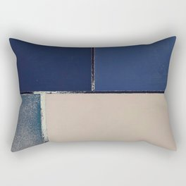 Toned Down Denim Rectangular Pillow