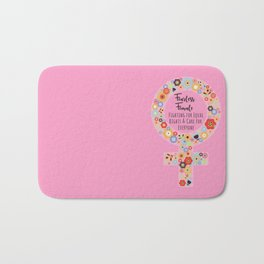 Fearless Female Pk Bath Mat
