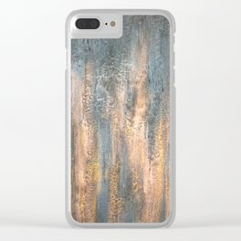 Waterfall - Original Art Clear iPhone Case
