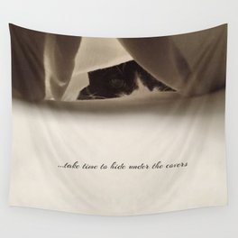 Take time Wall Tapestry