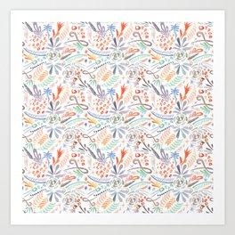 Whimsical Wind Art Print