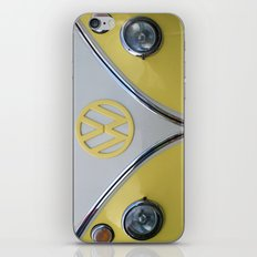 Lemon Yellow V Dub iPhone & iPod Skin