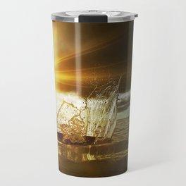 Water Sculpture 5. Travel Mug