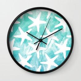 Stars from the Sea Wall Clock