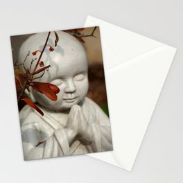 Buddha in the Fall Stationery Cards